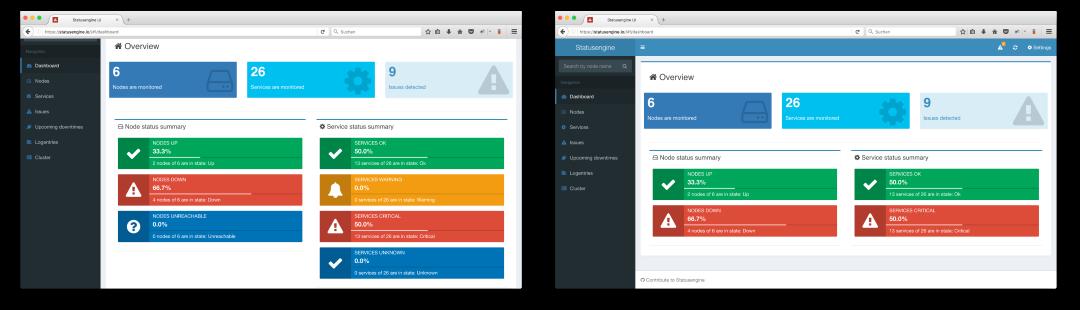 Hide empty state blocks on Statusengine Dashboard